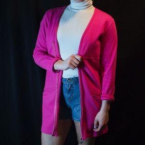 Zip up cardigan